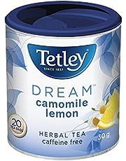 Tetley Tea Dream (Camomile Lemon) Herbal Tea, 20-Count