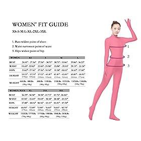 - 51kggRT9ltL - Womens Sleeveless Bodysuits Lycra Spandex Unitard Zentai Jumpsuit for Party Cosplay Sports