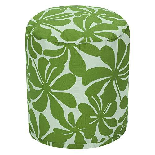 - Majestic Home Goods Sage Plantation Indoor/Outdoor Bean Bag Ottoman Pouf 16