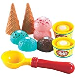 we all scream for ice cream game - Small World Toys Living - Super Cool Ice Cream  10 Pc. Playset