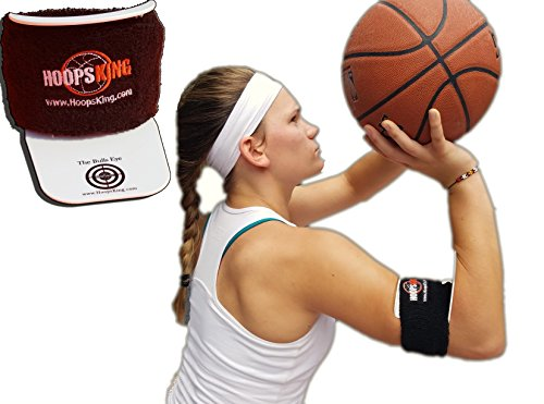 HoopsKing BullsEye Basketball Shooting Training Assist, Perfect Form Every Time – DiZiSports Store
