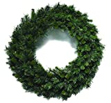 Santa's Workshop 14902 260 Tips Multi Pine Wreath, 36'', Green