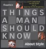 img - for Esquire's Things a Man Should Know About Style book / textbook / text book