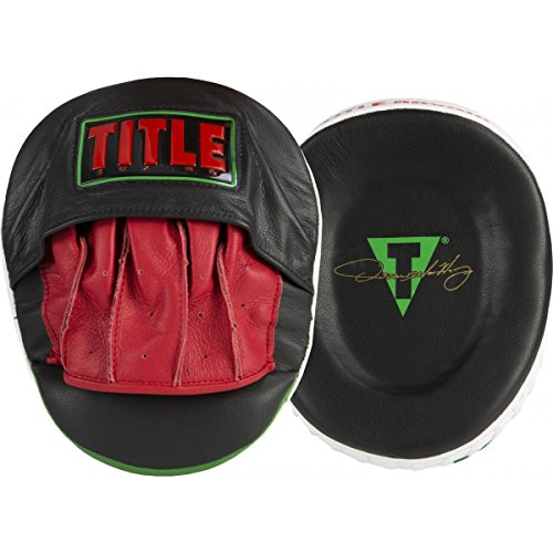 Title Boxing Oscar De La Hoya Signature Punch Mitts by Title Boxing