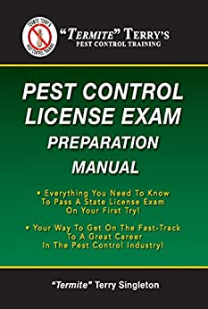 Termite Terrys Control License Preparation ebook product image
