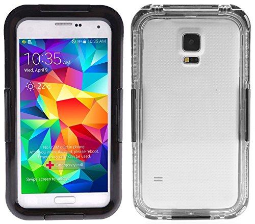 Viotek 82369 IP-68 Weatherproof Waterproof Case for Samsung Galaxy S5 - Black
