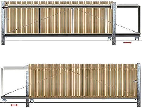 Bauer – Puerta corredera hoftor montar H=80, B=460, Sostiene: Amazon.es: Bricolaje y herramientas
