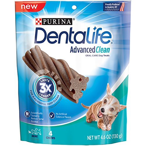 Purina Dentalife Advanced Clean Oral Care Mini Dog Treats - (6) 4 Ct. Pouches