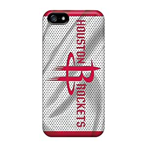 Excellent Design Houston Rockets Phone Case For Iphone 5/5s Premium Tpu Case