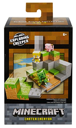 Minecraft Plains Biome Environment Playset Assortment