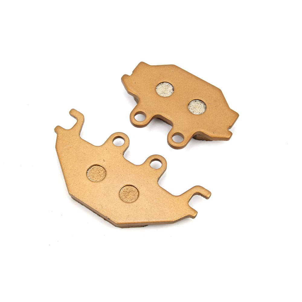 Un par de Pastillas de Freno Delanteras Xin de 94 x 46 x 8,5 mm y 73 x 46 x 11 mm para ADLY AEON Arctic Cat BOMBARDIER Can-Am CECTEK CPI Indian ...