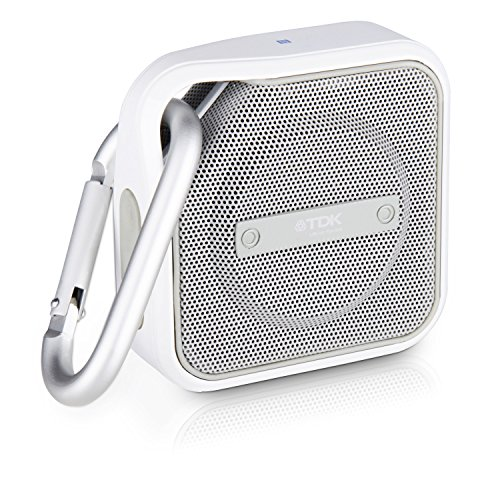 TDK Life On Record Micro A12 Wireless Bluetooth Speaker, White by TDK Life on Record