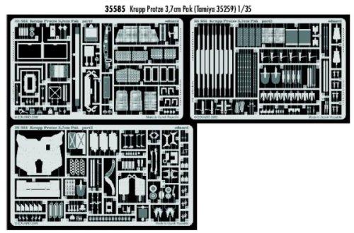 69/con 3,7/cm Eduard Accessories 35585/30502000/Krupp Veh/ículo Arm/ón Pak para Tamiya Montar 35259
