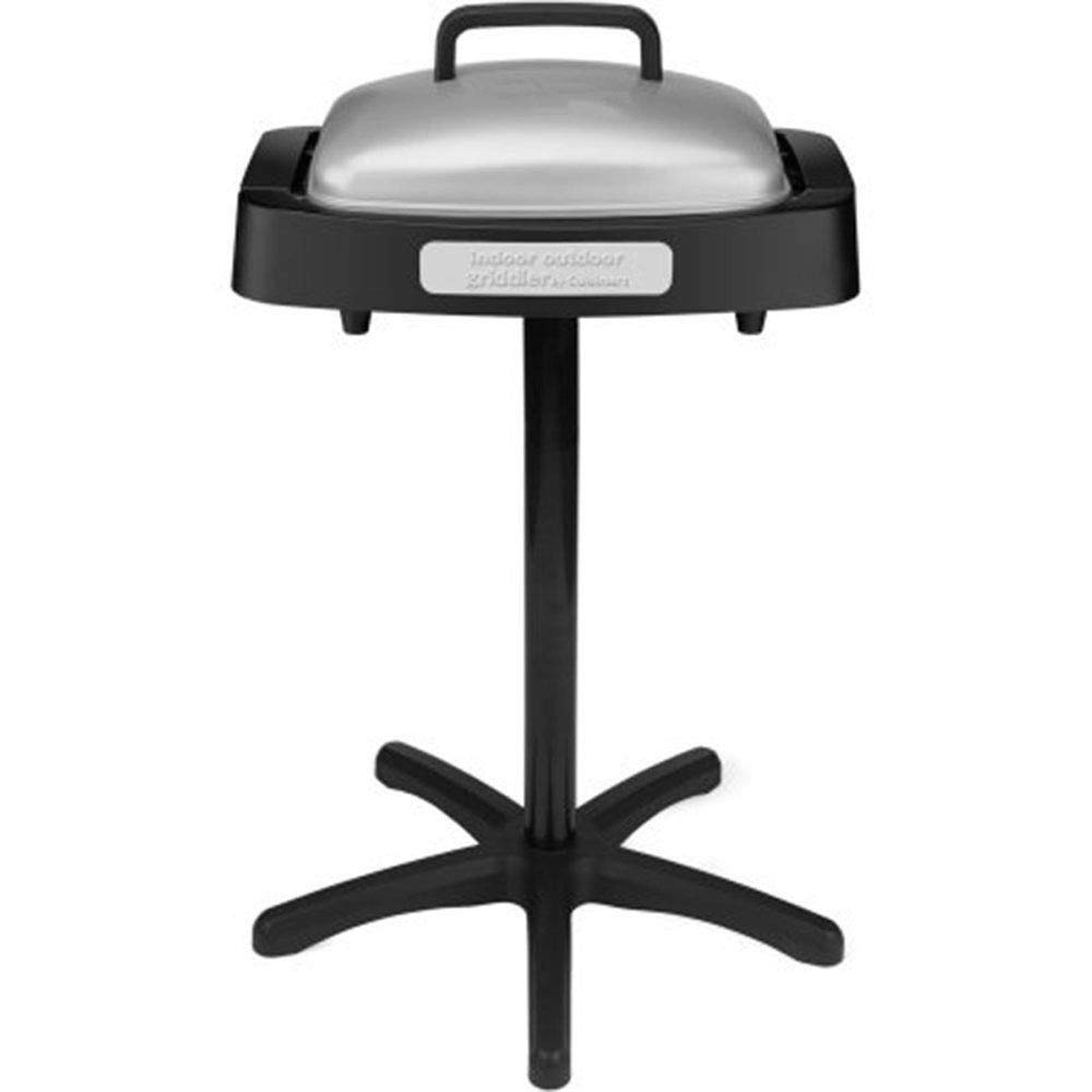zwan Electric Non Stick Indoor and Outdoor Grill with Reversible Plate with Ebook