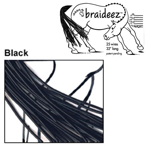 Braideez Wire Braiding Band, Black