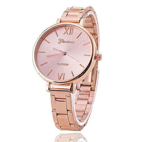 New Arrival Everyday Bracelet Watch Women Geneva Watch Stainless Steel Wristwatch Fashion Watches