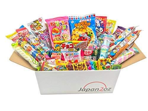 Japanese Candy Box 30 x Dagashi, Candy, Snacks, Gum. ()