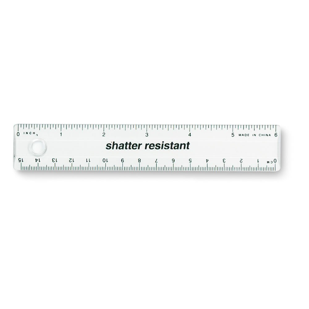 "ETA hand2mind 6"" Transparent Ruler, Pack of 10"