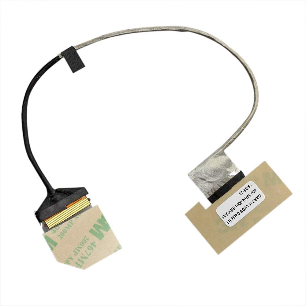 Zahara LCD LCDS Screen Display Cable Replacement for HP Chromebook 11 G5 11-V P/N 450.09704.0001
