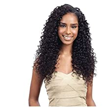 Royal-First Glueless Kinky Curly Lace Front Wig Brazilian Virgin Human Hair Wigs for Women 150% Density 16inch 1# Color