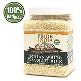 Pride Of India - Extra Long Indian Basmati Rice, 24oz Jar