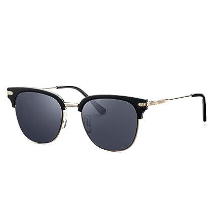 Avoalre Gafas de Sol Mujer/Hombre Polarizadas Redondas Unisex Lentes Polarizadas Protección UV400 Gris con para Hombre Mujer en Viaje Playa Conducir