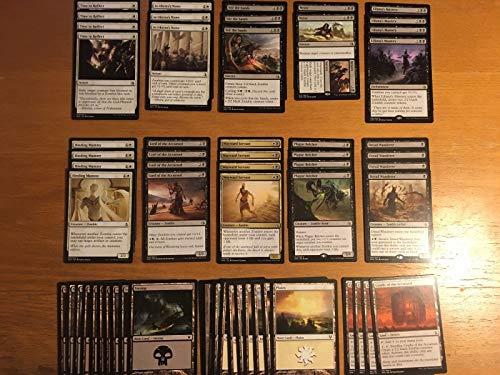 Custom Magic (Elite Black White Zombie Deck - Modern Legal - Custom Built - Magic The Gathering - MTG - 60 Card)