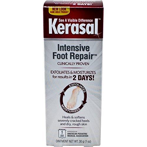 - Kerasal Intensive Foot Repair Ointment 1 oz (Pack of 2)