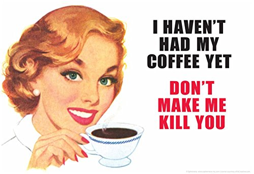 i own you coffee poster