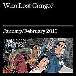 Who Lost Congo?