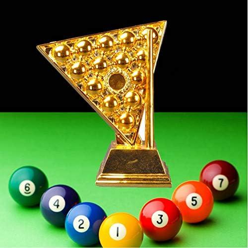 CPDZ Billar Snooker Cup Model League Trofeo del Campeonato de la Competencia Copa de Premio electrochapado ecológico Resina Recuerdo Alto 23 CM: Amazon.es: Deportes y aire libre