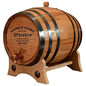 Personalized – Customized American White Oak Aging Barrel – Barrel Aged