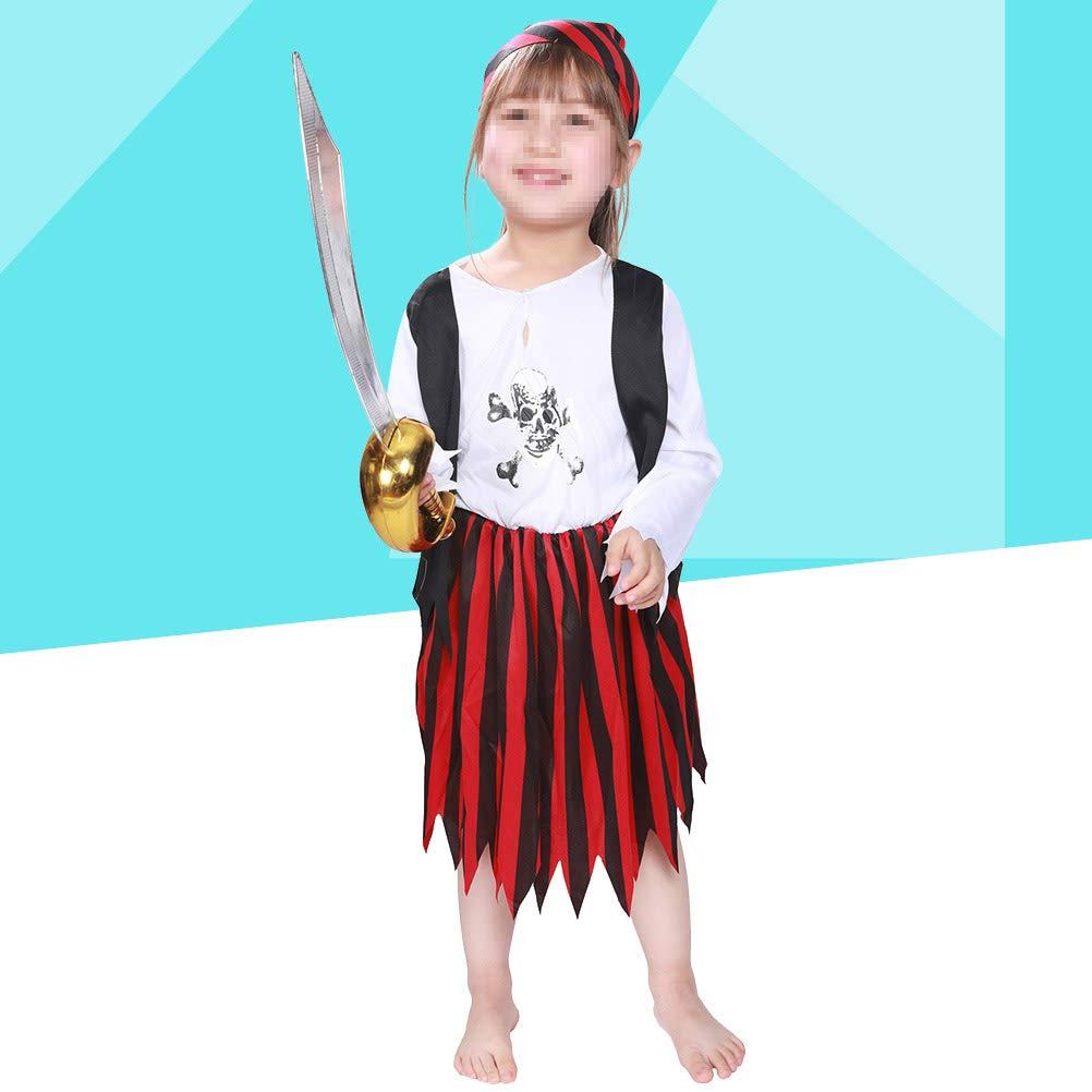 Amazon.com: BESTOYARD Disfraz de pirata de alta mar, para ...