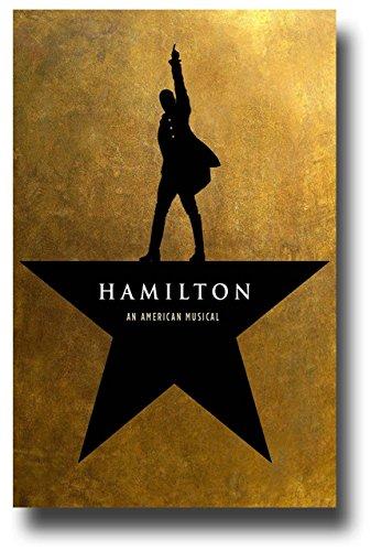 Hamilton Poster - Broadway Musical Play Alexander Lin-Manuel Miranda Star Promo