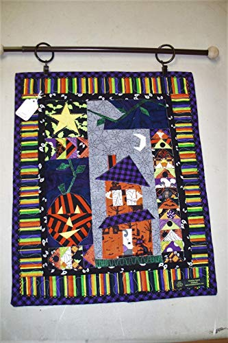 Quilted Halloween Wall Hanging -