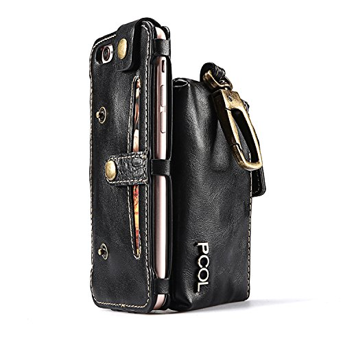 Leather wallet phone case iPhone product image