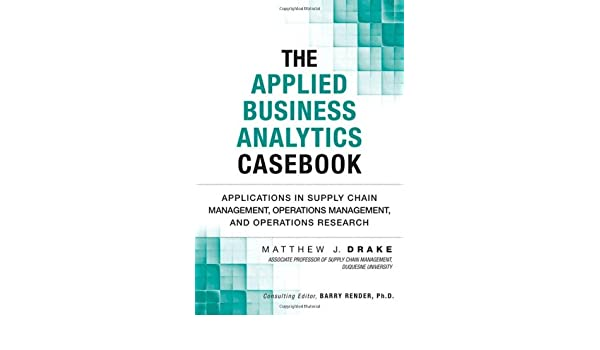 Applied Operations Research For Management Ebook