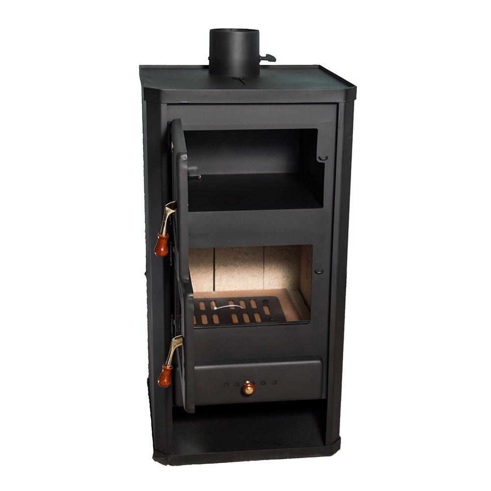 Estufa de leña Prity con horno, modelo FM y salida de calor 12 kW: Amazon.es: Bricolaje y herramientas