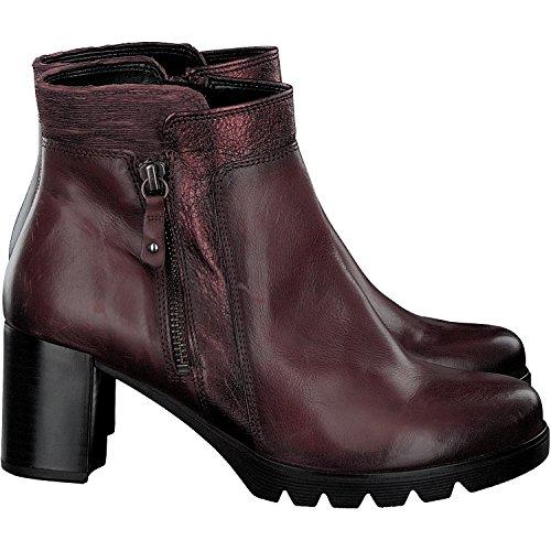 Les Bottines De Femmes Gabor - Chaussures Noires Dans Des Tailles Plus Merlot (micro + Eff.)