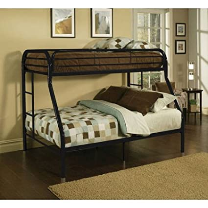 Amazon Com Twin Over Full Size Metal Bunk Bed Twin Loft Bed Size