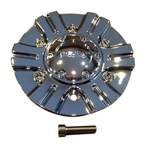 Akuza 702 Creation Chrome Wheel Rim Center Cap EMR702-CAR-CAP LG0608-04