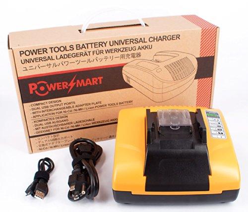 Lithium-ion Battery Charger Fit Makita LXLC01Z1, LXNJ01, LXPH01, LXPH01C1, 194309-1, BL1815, BL1830, BL1835