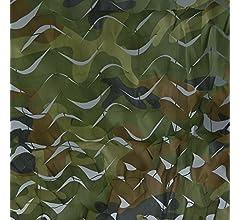 Oarea, red con decoración de camuflaje para casetas de caza, Camuflaje, 2x3M(6.6x10ft): Amazon.es: Deportes y aire libre