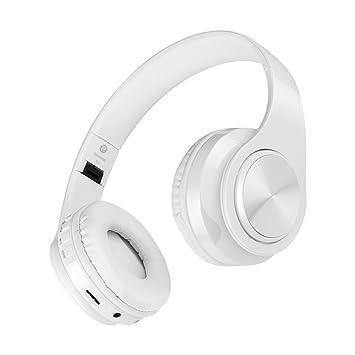 Winwintom Auriculares Bluetooth De Diadema InaláMbricos,Cascos Bluetooth Plegable,De Volumen para iPhone,