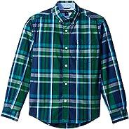 Tommy Hilfiger Big Boys Ellison Long Sleeve Woven Shirt