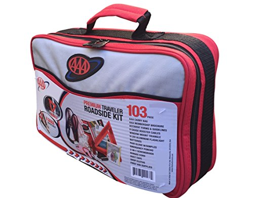 AAA 103 Piece Emergency Roadside (Aaa Bag)