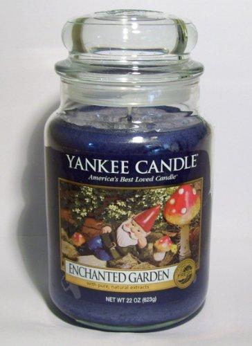 Enchanted Garden - Enchanted Garden - 22oz Yankee Candle Jar