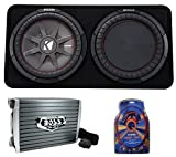 12 inch subwoofer and amp package - Kicker 43TCWRT122 1000W 12