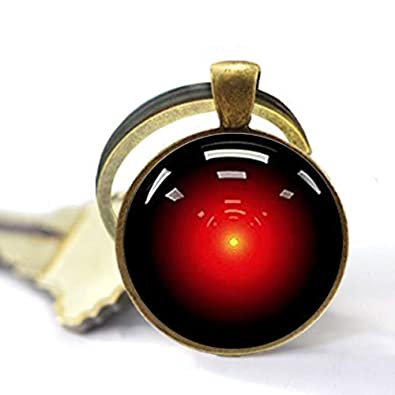 Amazon.com: Asd Hal 9000 Space Odyssey - Llavero: Jewelry