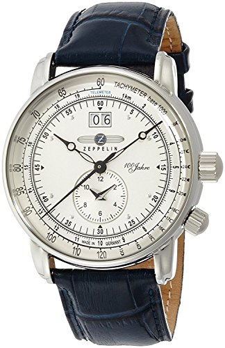 ZEPPELIN [250 limited edition model] Watch Special Edition 100 years Zeppelin Ivory dial 76401-NV Men's [regular imported goods]